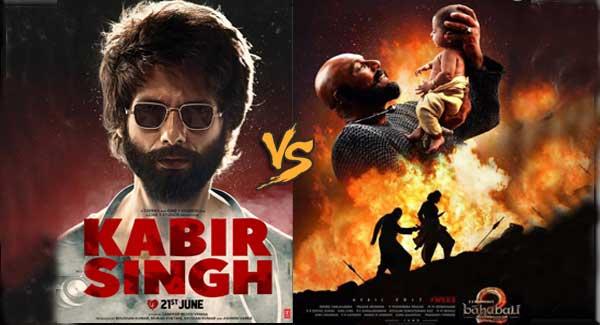 BAHUBALI 2को पीछे छोड़ आगे निकली संदीप रेड्डी की KABIR SINGH KABIR SINGH
