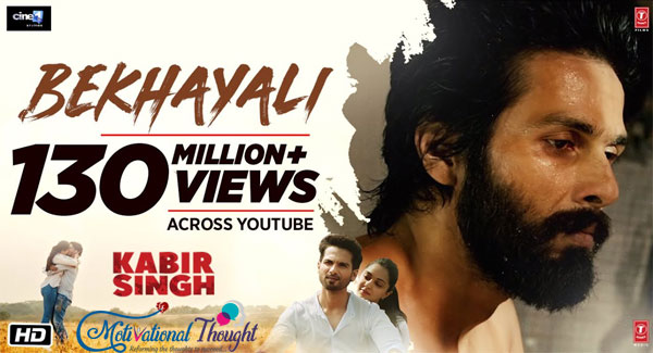 BEKHAYALI LYRICS -Kabir Singh|Arijit Singh