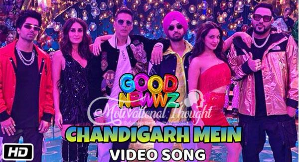 Chandigarh mein SongLyrics -Good Newzz Harrdy Sandhu