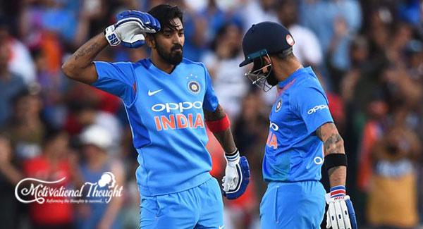 INDvsAUS: जीत के बाद बोले कोहली राहुल ने अपनी बेस्ट पारी खेली