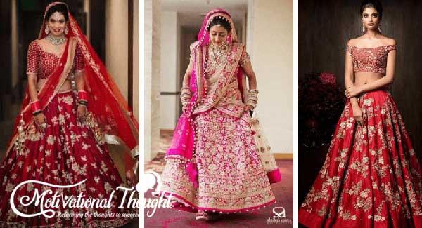 Bridal Lehenga Designs For 2021 Weddings