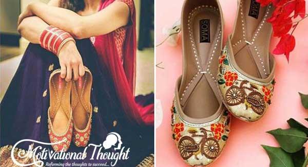 पंजाबी जुत्ती के डिज़ाइन : New Punjabi Jutti Designs | Punjabi Bridal Jutti