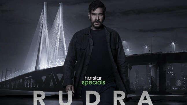 अजय देवगन ने इदरीस एल्बा के लूथर की रीमेक वेब सीरीज़ रुद्र का मोशन पोस्टर रिलीज़ किया | Rudra - The Edge Of Darkness