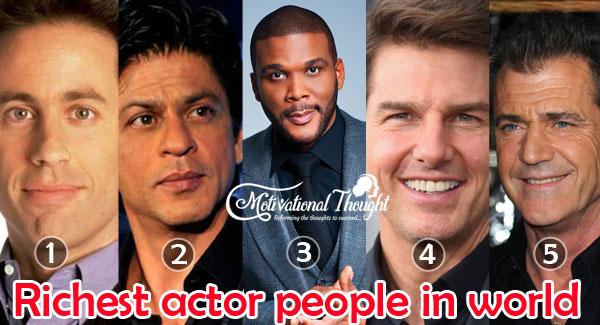 2019 में  दुनिया के सबसे अमीर हीरो |  Top 10 Richest Actors In The World